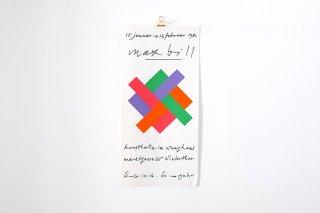 Max Bill / Kunsthalle Winterthur - 1980 -