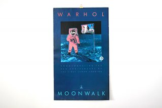 Andy Warhol /�MOONWALK�1989  Commeration to the First Lu -NASA- Original Vintage Poster