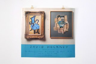 "David Hockney / ""A RETROSPECTIVE"" THE MTROPOLITAN MUSEUM 1988"