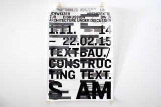 TEXTBAU./CONSTRUCTING TEXT.  S  AM