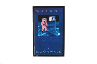 Andy Warhol �MOONWALK�  Original Vintage Poster 1989