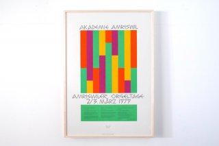 Max Bill / Amrilwiler Orgeltage - 1979 -