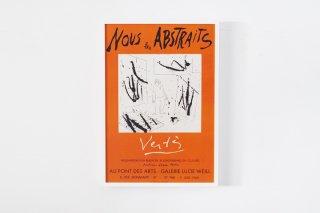 """Marcel Vertes / """"Nous les Abstrait""""  1960"""