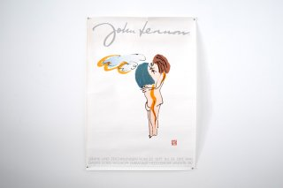 <img class='new_mark_img1' src='//img.shop-pro.jp/img/new/icons14.gif' style='border:none;display:inline;margin:0px;padding:0px;width:auto;' />John Lennon Sketchbook / Exhibition Art poster 1990, Germany