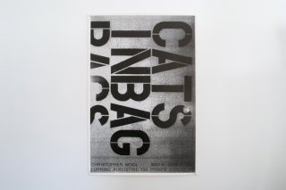 <img class='new_mark_img1' src='//img.shop-pro.jp/img/new/icons14.gif' style='border:none;display:inline;margin:0px;padding:0px;width:auto;' />Christopher Wool / CATS IN BAGS