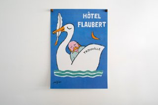 Raymond Savignac / Hôtel Flaubert Trouville 1996
