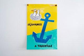 Raymond Savignac / Séjournez à Trouville. 1996