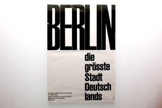 Emil Ruder / BERLIN - die grösste Stadt Deutschlands
