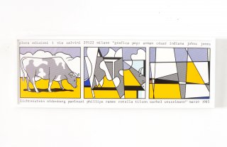 Roy Lichtenstein / Grafica Pop in Milano 1985【Keep】