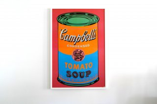 Andy Warhol / Soup Can Tomato Colored Label 1968 -  Small -