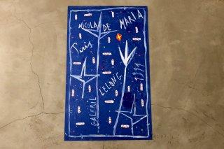 Nicola de Maria / Galerie Lelong - 1991 -