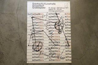 Kurt Schwitters / Städtische Kunsthalle Düsseldorf 1971