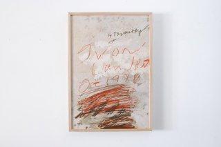 Cy Twombly / Yvon Lambert 1980