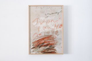 Cy Twombly / Yvon Lambert 1980