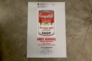 Andy Warhol / Italian Exhibition Poster 2000