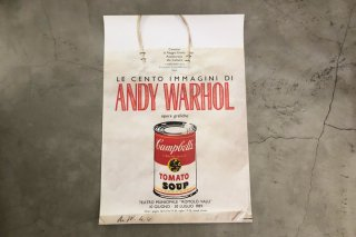 Andy Warhol / Italian Exhibition Poster 1995
