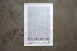 Fred van de Walle / Galerie Toni Brechbühl 1980