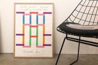 MAX BILL / Ausstellung Galerie im Erker St. Gallen 1983