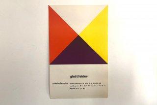 Hans Jörg Glattfelder / Galerie Daedalus Berlin 1970