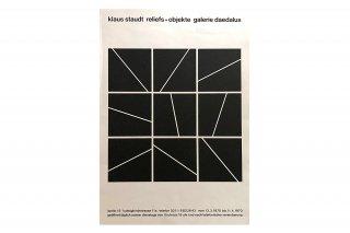 Klaus Staudt / Galerie Daedalus Berlin 1970