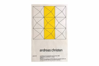 Andreas Christen / Galerie 58 Rapperswil 1968