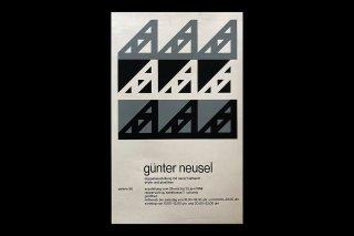 Günter Neusel / Galerie 58 Rapperswil - 1968
