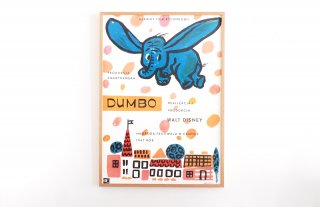 DUMBO / WALT DISNEY Movie Poster
