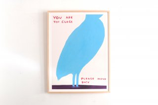 David Shrigley / YOU ARE TOO CLOSE