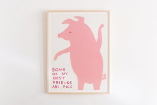 David Shrigley / SOME OF MY BEST FRIENDS ARE PIGS