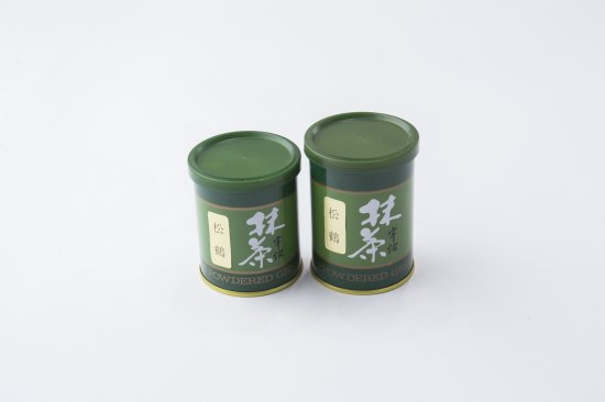 【抹茶】松鶴(しょうかく)≪濃茶向≫ [20g缶]