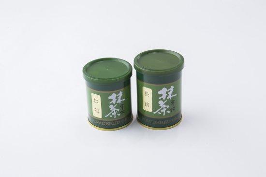 【抹茶】松鶴(しょうかく)≪濃茶向≫ [40g缶]