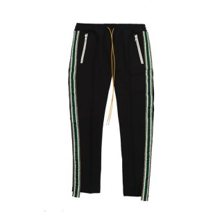 TUX-TRACKPANT / Black/Green