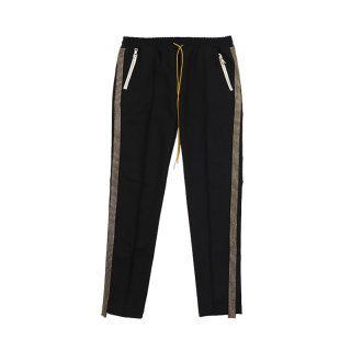 TUX-TRACKPANT / Black/Gold