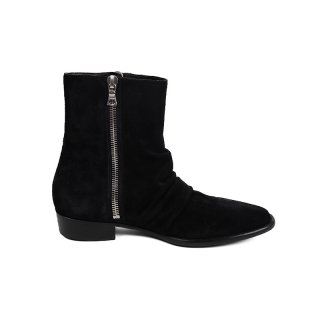 Skinny Stack Boot / Black