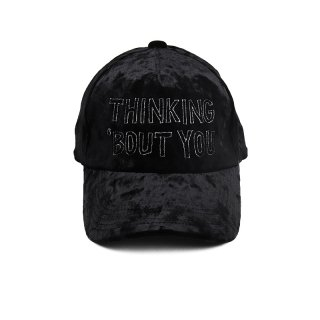 THINKING 'BOUT YOU CAP / Black
