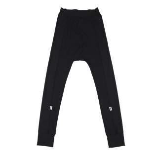11 LOGO LEGGINGS PANTS / Black