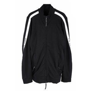 11 LOGO ZIP COTTON SWEAT / Black