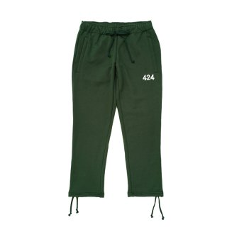 ALIAS EMBROIEDERED SWEATPANT / GREEN