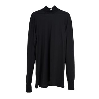 HI-NECK LONG SLEEVE / Black Dye