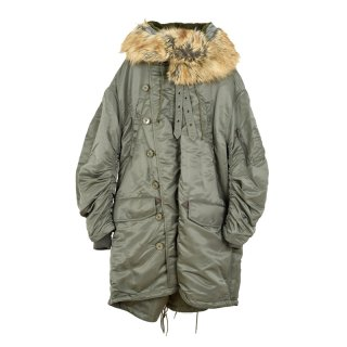 Over Rvs Parka / Army Khaki