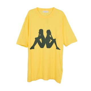 KAPPA T-SHIRT / YELLOW
