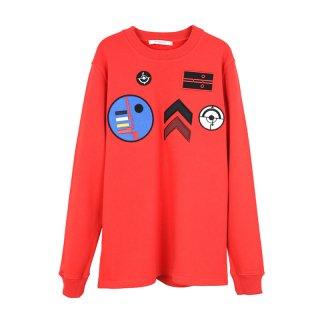 SWEAT SHIRT / RED