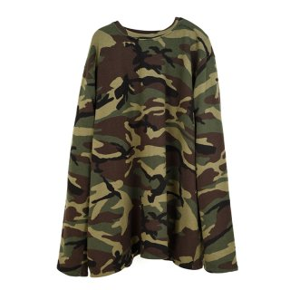 CAMO SALL TOP ARMY KHAKI