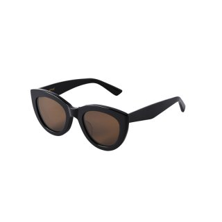 LAURYN COLOR:Shiny Black & Matte BlackLENS COLOR:Brown