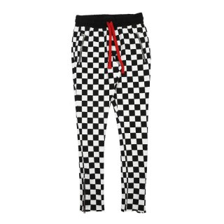 Stack Sweats / Black/White Checkers