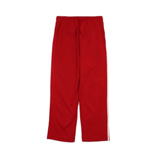 STRIPES WIDE PANTS / Red
