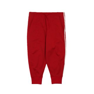 STRIPES TRACK PANTS / Red