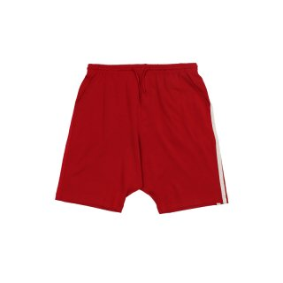 STRIPES SHORTS / Red