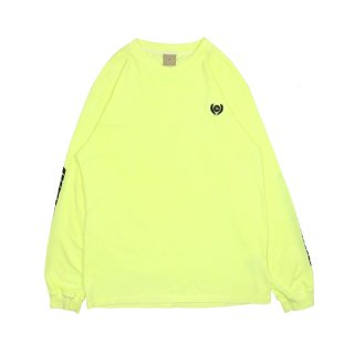 CALABASAS COLLECTION Long Sleeve Tee / Frozen Yellow