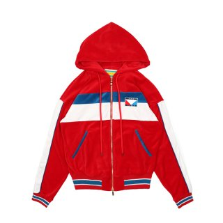 Tyson track jacket / Red